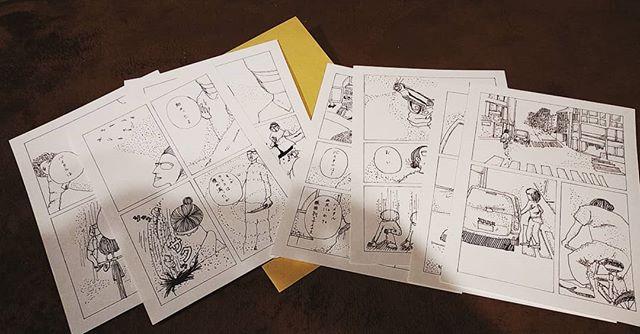 漫画出来た。8Pしか書いてないけど、すげー疲れた。漫画表現の労力を知った。